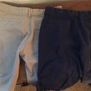 Old navy Bermuda shorts and skirt